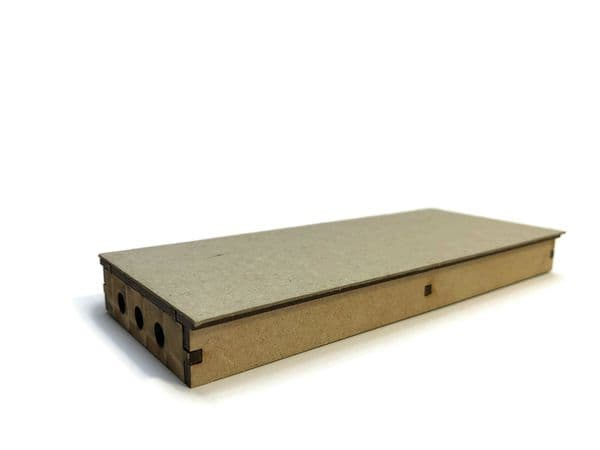 LX383-OO Straight Island Platform (168mm x 70mm) (Pack of 2) - OO/4mm/1:76